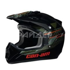 Шлем кроссовый  Can-Am X1 Cross Zone Helmet Black